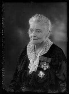 Dame Louisa Innes Lumsden, by Bassano Ltd - NPG x105373