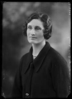 Hon. Lettice Bowlby (née Annesley), by Bassano Ltd - NPG x105382