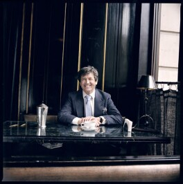 Melvyn Bragg, by Abigail Zoe Martin, March 2008 - NPG x136208 - © BBC Pictures - Specially Commissioned for BBC RADIO 4