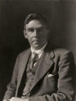 Gordon Miller Bourne Dobson, by Walter Stoneman - NPG x167225