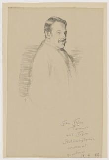 Sir Charles Villiers Stanford, by William Rothenstein - NPG D42656