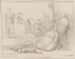 The Murder of the Innocents, by John ('HB') Doyle, printed by  Alfred Ducôte, published by  Thomas McLean, published 29 August 1836 - NPG D41386 - © National Portrait Gallery, London