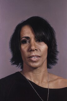 Kelly Holmes, by Craig Wylie, 2012 - NPG  - © National Portrait Gallery, London