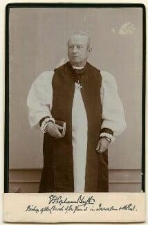 George Francis Popham Blyth, by Unknown photographer - NPG x9468