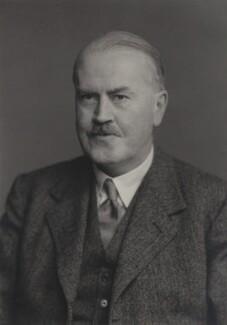 Sir James Fitzjames Duff, by Walter Stoneman - NPG x167283