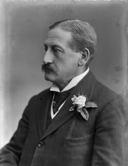 Sir Harry Seymour Foster, by Bassano Ltd - NPG x157990