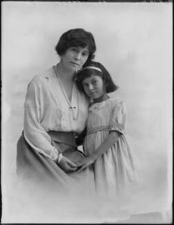 Dolly Parnell (Princess Nazir Ali Khan); Betty Naldera Ali Rushby (née Khan), by Bassano Ltd - NPG x158045