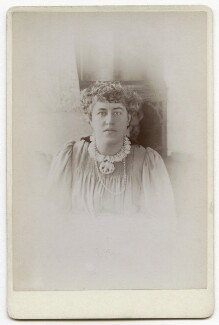 Jane Alice ('Jenny') Morris, by Unknown photographer - NPG x136261