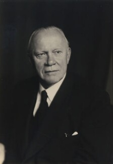 Sir (John) Montague Eddy, by Walter Stoneman - NPG x167343