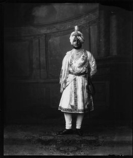 Sir Bhupindra Singh, Maharaja of Patiala, by Vandyk, 5 July 1911 - NPG x98675 - © National Portrait Gallery, London