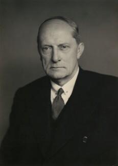 Sir Norman George Armstrong Edgley, by Walter Stoneman - NPG x167347