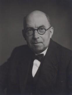 Sir (John) Goronwy Edwards, by Walter Stoneman - NPG x167352