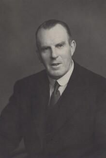 Sir Alan Edward Ellis, by Walter Stoneman - NPG x167388