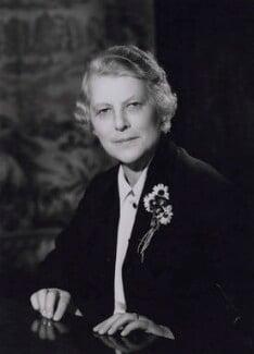 Evelyn Violet Elizabeth Emmet (née Rodd), Baroness Emmet of Amberley, by Walter Bird - NPG x167398
