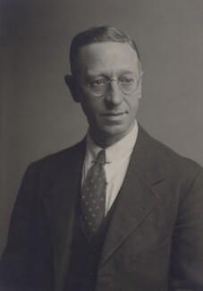 Sir Frank Leonard Engledow, by Walter Stoneman - NPG x167410