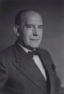 Sir Charles Arthur Lovatt Evans, by Walter Stoneman - NPG x167434