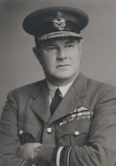 Sir Hugh William Lumsden Saunders, by Walter Stoneman - NPG x169202