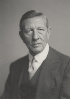Sir Malcolm Arnold Robertson, by Walter Stoneman - NPG x169205