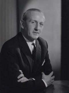 Sir (Sidney) Harold Evans, 1st Bt, by Walter Bird - NPG x167442