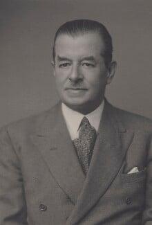 Sir Thomas John Carey Evans, by Walter Stoneman - NPG x167447