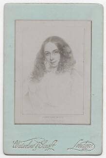 Elizabeth Barrett Browning, by Waterlow & Sons Ltd, after  Field Talfourd - NPG x136270