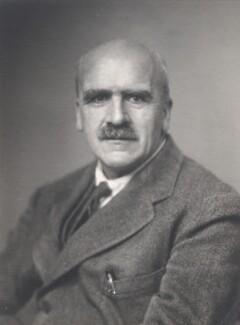 John Burdon Sanderson Haldane, by Walter Stoneman - NPG x169267