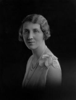 Violet Olivia Cressy-Marcks (née Rutley, later Fisher), by Lafayette - NPG x169276