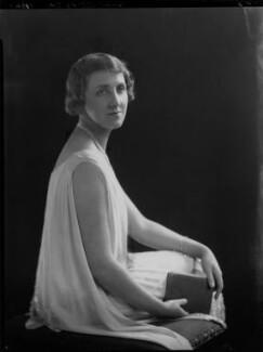 Violet Olivia Cressy-Marcks (née Rutley, later Fisher), by Lafayette - NPG x169277
