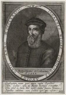 John Wyclif, by Klemens Ammon, after  Unknown artist - NPG D42325