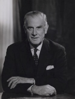 (Francis) Raymond Evershed, 1st Baron Evershed, by Walter Bird, 21 November 1962 - NPG x167457 - © National Portrait Gallery, London