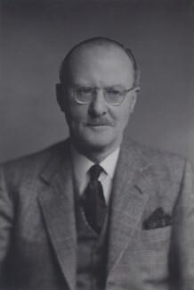 Sir John Fullerton Evetts, by Walter Stoneman - NPG x167458
