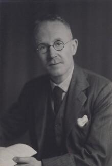 Alfred Cyril Ewing, by Walter Stoneman - NPG x167461