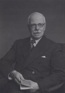 Arthur James Ewins, by Walter Stoneman, 1954 - NPG x167466 - © National Portrait Gallery, London