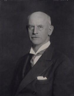 Sir John Bretland Farmer, by Walter Stoneman - NPG x167488