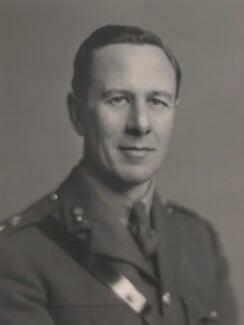 Robert William Evelyn Cecil, 2nd Baron Rockley, by Walter Stoneman - NPG x169333