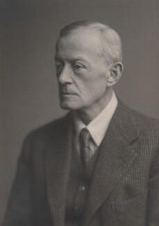 George Charles Montagu, 9th Earl of Sandwich, by Walter Stoneman - NPG x169334