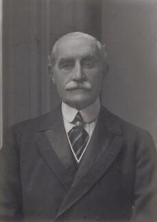 Horace Brand Farquhar, 1st Earl Farquhar, by Walter Stoneman - NPG x167490