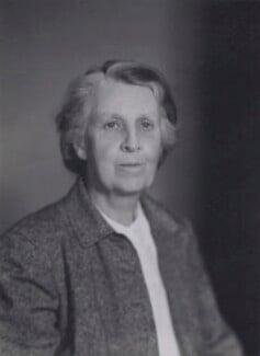 Dame Frances Margaret Farrer, by Walter Stoneman - NPG x167495