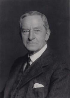 Sir Bryan Godfrey Godfrey-Faussett, by Walter Stoneman - NPG x167500