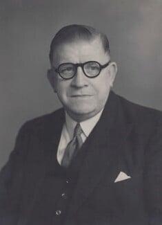 Sir Luke Fawcett, by Walter Stoneman - NPG x167503