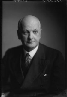 Sir Giles Gilbert Scott, by Walter Stoneman - NPG x169340