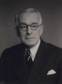 Sir Ernest Frederick Finch, by Walter Stoneman - NPG x167535