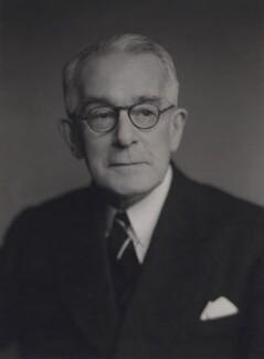 Sir Ernest Frederick Finch, by Walter Stoneman, 1956 - NPG x167535 - © National Portrait Gallery, London