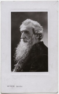 William Booth, published by Rotary Photographic Co Ltd, circa 1907 - NPG x136275 - © National Portrait Gallery, London