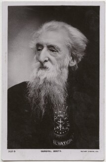 William Booth, possibly by E.H. Mills, published by  Rotary Photographic Co Ltd - NPG x136276