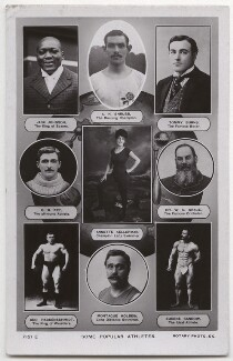 'Some Popular Athletes', published by Rotary Photographic Co Ltd - NPG x136279
