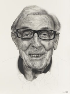 Eric Sykes, by Andrew Tift, 2011 - NPG  - © National Portrait Gallery, London