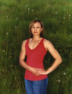 Jessica Ennis-Hill, by Bettina von Zwehl - NPG P1729
