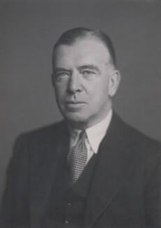 Sir William James FitzGerald, by Walter Stoneman - NPG x167563
