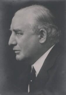 Edward Gibson Fleming, by Walter Stoneman - NPG x167573
